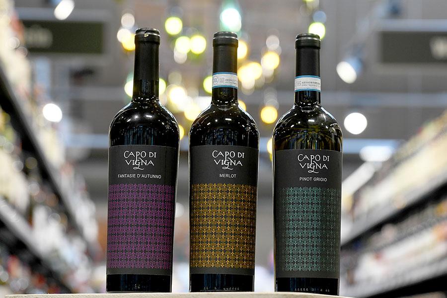 """Wein """"Capo di Vigna"""" in Biberach"""